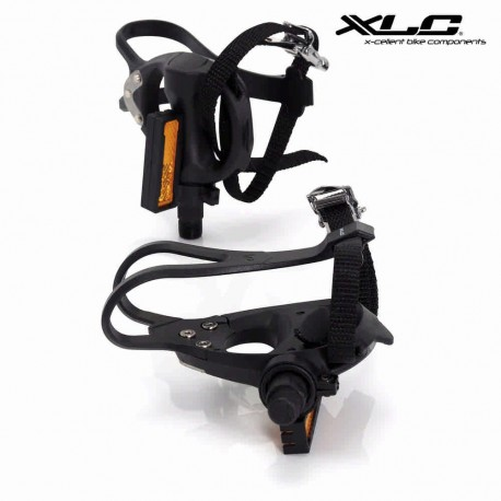 XLC Road pedals with belt
