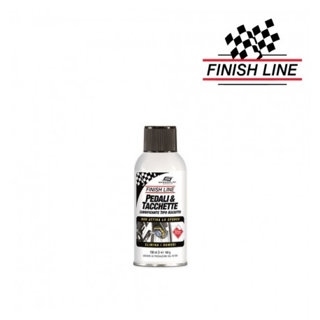 Finish Line Pedal & Cleat Lubrificante Spray 150 Ml
