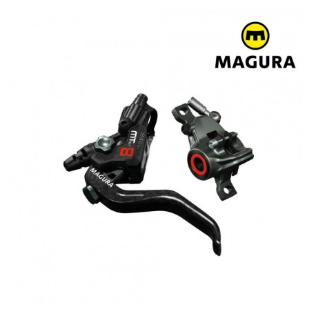 Magura kit freno a disco MT8 idraulico nero/carbon, leva 2 dita