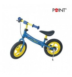 Point bici senza pedali blu