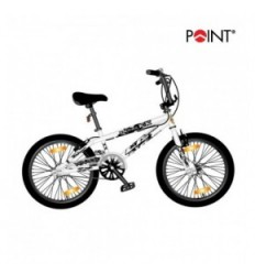 Point BMX Monz Double X white