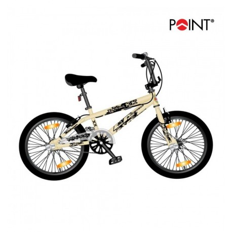 Point BMX Monz Double X cream