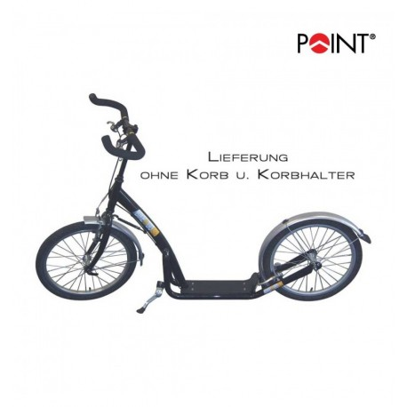 Point bici senza pedali City Roller nera