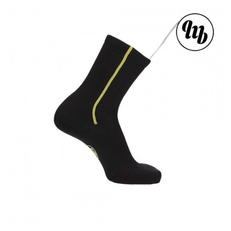 MB Wear Calzino Eracle H15 nero/giallo